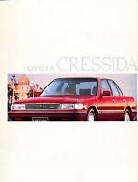 1989 Toyota Cressida 16-page Original Australia Sales Brochure Catalog