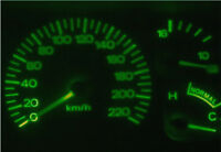 Green LED Dash Light Kit for Ford Falcon EF EL Fairlane NL