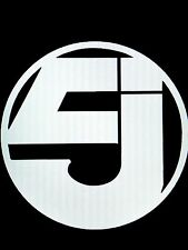 "Jurassic 5 Vinyl Decal Sticker 5.7"" Round (Jayou, Hip Hop, L.A.)"