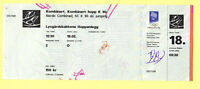 Orig.ticket   Olympic Winter Games LILLEHAMMER 1994 // N.COMBINED - Jumping  !!