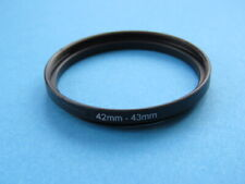 42mm to 43mm Step Up Step-Up Ring Camera Filter Adapter Ring 42mm-43mm