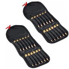 2X Rifle Folding Ammo Bag Hunting Bullet Holder .30-06 Shotgun Cartridge Wallet