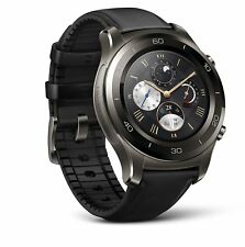 Huawei Watch 2 Classic Smartwatch - Ceramic Bezel- Black Leather Strap