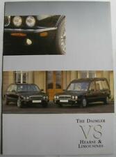 DAIMLER V8 Hearse & Limousine Car Sales Brochure