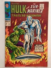 Marvel TALES TO ASTONISH #93 (1967) 1st Full App. of Silver Surfer HIGH GRADE