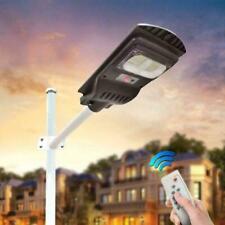 50W Solar Street Light PIR Motion Sensor LED Garden Wall Illumination Lamp B9Z0