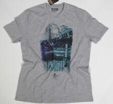 neuf All Star Converse T-shirt T-shirt haut pour homme Chucks gris gr.m 18 #232