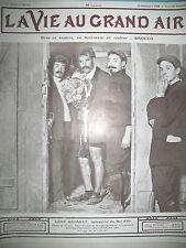 SPORT CYCLISME BOL D'OR LEON GEORGET VEL D'HIV BROCCO LA VIE AU GRAND AIR 1908