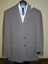 $465 new Jos A Bank JOSEPH solid tan / taupe    jacket 38 L slim fit