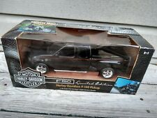 VERY RARE! 1/18 SCALE 2000 BLACK HARLEY DAVIDSON LIMITED EDIT. FORD F-150 TRUCK