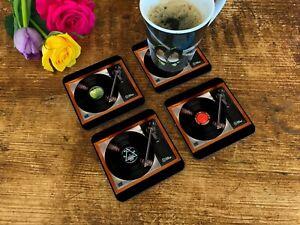 Table Coasters featuring Linn Sondek LP12. Music lover & Vinyl Record lover gift