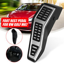 Right Foot Rest Pedal Steel Kick Panel Stainless Steel RHD For VW/Golf MK7 WW