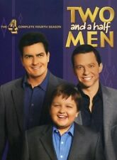 Two And A Half Men : Season 4 (DVD, 2008, 4-Disc Set) Charlie Sheen