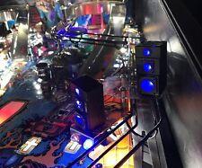 Universal Music Pinball Machine Set Of 3Way Speakers(Blue Led Lights) Mod Stern