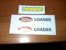 TONKA TRUCK  LOADER DECAL WITH USA OVAL LOGO