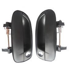 For 00-06 Hyundai Accent Outside Exterior Front Left Right Side Door Handle 2Pcs