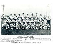 1965 EL PASO SUN KINGS 8X10 TEAM PHOTO TEXAS LOS ANGELES ANGELS OLERUD VINSON