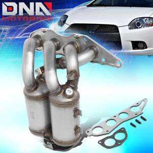 FOR 2006-2012 MITSUBISHI ECLIPSE 2.4L CATALYTIC CONVERTER EXHAUST MANIFOLD KIT