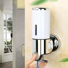 Sanitizer Liquid Soap Dispenser Wall Mounted Shampoo Detergent Accessories KS