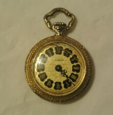 Vintage 1950s BUCHERER Ornate Pendant Watch / Pocket Watch / Necklace Watch