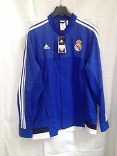 Herren ,Original Adidas Real Madrid Jacke Blau Größe L NEU