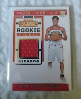 2019-20 RUI HACHIMURA RC PANINI CONTENDERS ROOKIE TICKET JERSEY WIZARDS HOT!