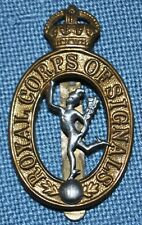 Wwi Royal Corps of Signals Badge