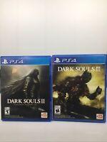 Dark Souls II: Scholar of the First Sin And Dark Souls III