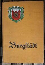 28628 ARTHUR BEIL Chronik zur Geschichte Burgstädt s 1928 Sachsen, bei Chemnitz