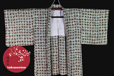 Kimono Haori Japonais MADE IN JAPAN NEUF NEW SOIE SILK AUTHENTIQUE JAPANESE