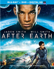 After Earth (2013) Blu-Ray Disc + DVD + Digital M. Night Shyamalan Will Smith