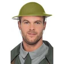 Smiffy's 49127 Smiffys Ww2 Tommy Hat Green One Size - Military Army Fancy