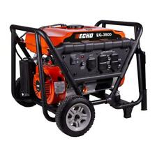 ECHO Gas Powered Portable Generator Backup Power Emergency Compact 3500 Watt NEW