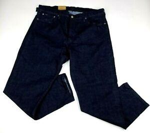 POLO Ralph Lauren Prospect Straight Jeans Mens 36Tx38 Blue Stretch NEW $98.50