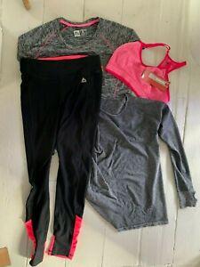 Bundle   Sports tops & running yoga trousers RBX New Balance Manuka Med NEW