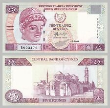 Zypern / Cyprus 5 Pounds 2003 p61b unc