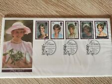 PRINCESS LADY DIANA Princess of Wales Briefmarken Set