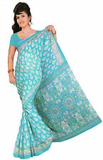 mousseline Bollywood Carnaval SARI ORIENT INDE fo308