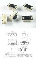 5 pulsanti microswitch 2 pin 3x7x3,5 mm N.A. tablet smartphone pulsantini vertic
