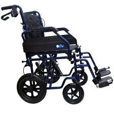 Carrozzina pieghevole transito seduta 46 Moretti anziani disabili Moretti