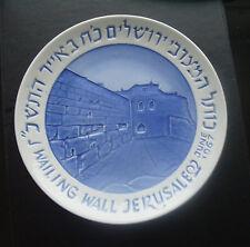 RARE! Naaman Israel June1967 Wailing Wall Jerusalem porcelain plate