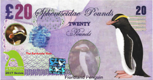 2017 Penguin Series 🐧 FIORDLAND PENGUIN 🐧 20 Spheniscidae Pounds 🐧
