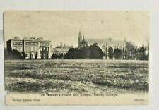Radley College wardens house and chapel postcard