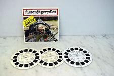 View Master D 104-D Düsenjägerpilot ( 1971 ) 3 Scheiben