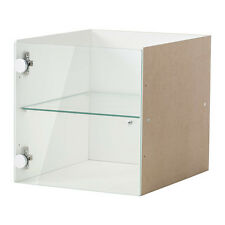 IKEA KALLAX Shelf rack Insert with glass door 33x33cm white free & fast dispatch