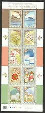JAPAN 2019 HUNGARY DIPLOMATIC RELATIONS 150TH ANNIVERSARY SOUVENIR SHEET IN MINT