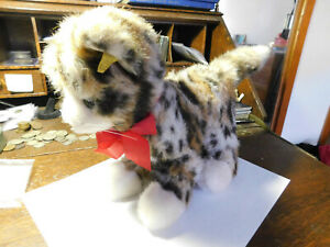 Estate Find Kitty 2725/22 Vintage Steiff w/ Tag & Ear Button ca 1980s-1990s 8""