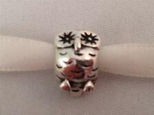 Genuine Original Pandora Sterling Silver Wise Old Owl Charm 790278 925 ALE