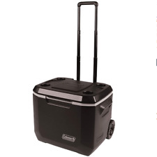 Coleman Ice Chest Cooler 50-Quart Xtreme 5-Day Heavy-Duty With Wheels Beach Fun