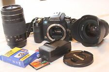 Konica Minolta Maxxum 5D digital camera w/ 75-300mm & 19-35mm lenses & more!